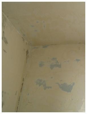 Struganje stare boje sa zidova | Gletanje zidova